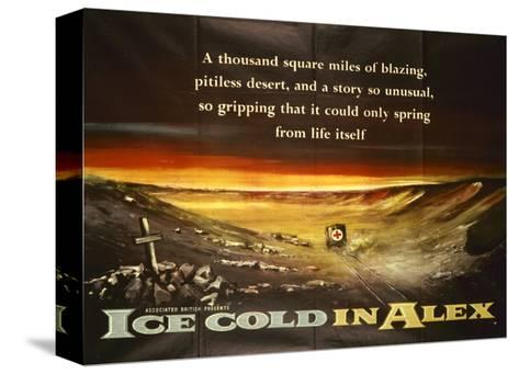 Ice-Cold in Alex Stretched Canvas Print