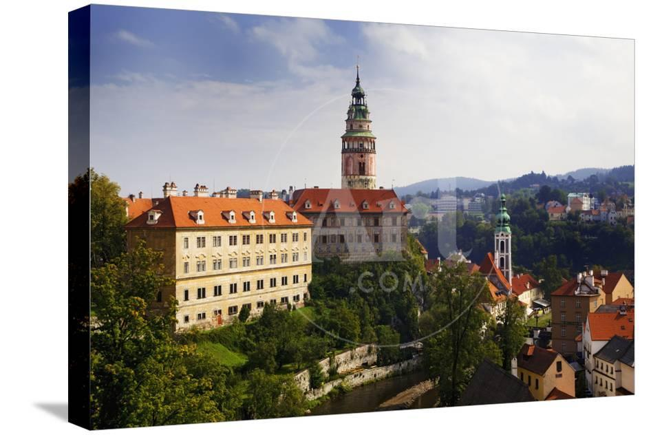 Overview Of Cesky Krumlov Premium Photographic Print By Jaynes Gallery At AllPosters