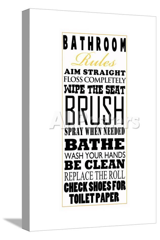home decor bathroom signs.htm bathroom rules posters by jim baldwin at allposters com  bathroom rules posters by jim baldwin