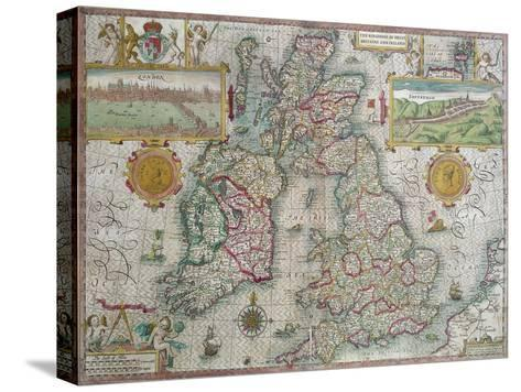 Map of the kingdom of great britain and ireland 1610 stretched map of the kingdom of great britain and ireland 1610 gumiabroncs Gallery