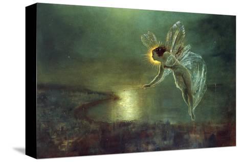 Espíritu de la noche, 1879 Reproducción de lámina sobre lienzo