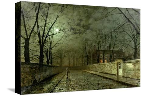 Silver Moonlight, 1880 Reproducción de lámina sobre lienzo