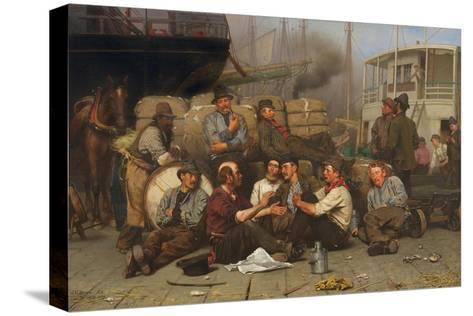 The Longshoremen's Noon, 1879 Reproducción de lámina sobre lienzo