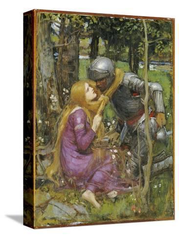 A Study for 'La Belle Dame Sans Merci', C.1893 Reproducción de lámina sobre lienzo