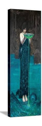 Circe Invidiosa, 1892 Reproducción de lámina sobre lienzo