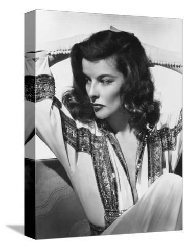 Katharine Hepburn, The Philadelphia Story, 1940 Stretched Canvas Print