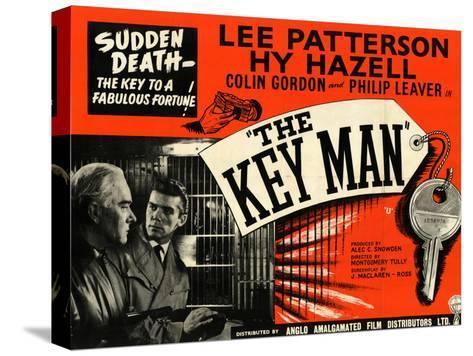 Key Man (The) Stretched Canvas Print
