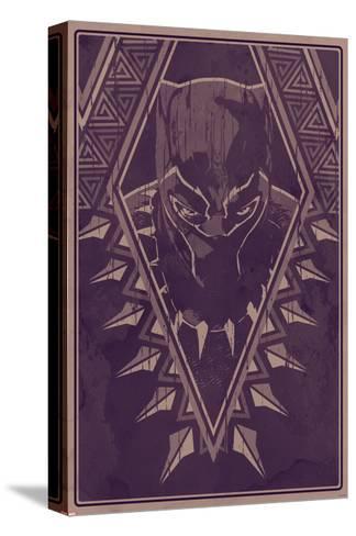 King of Wakanda Stretched Canvas Print