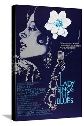 Lady Sings the Blues, 1972 Impressão em tela esticada