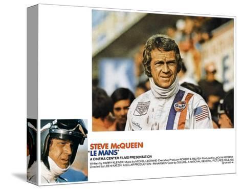Le Mans, Steve McQueen, 1971 Impressão em tela esticada