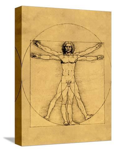 Homo Cuadratus Reproducción de lámina sobre lienzo