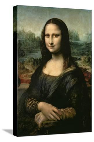 Mona Lisa, c.1507 Impressão em tela esticada