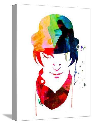 Alex Watercolor Stampa su tela