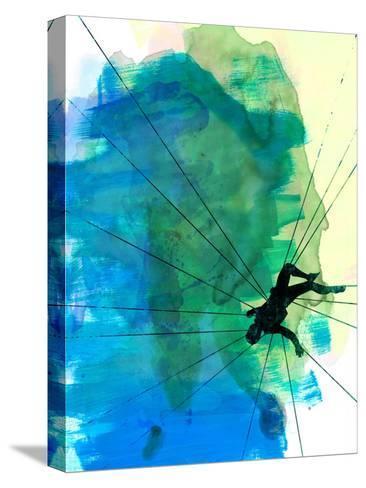 Vertigo Watercolor Stampa su tela