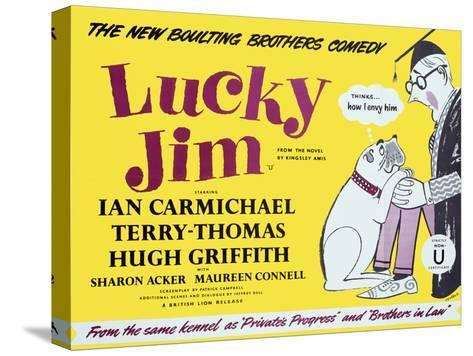 Lucky Jim Stretched Canvas Print
