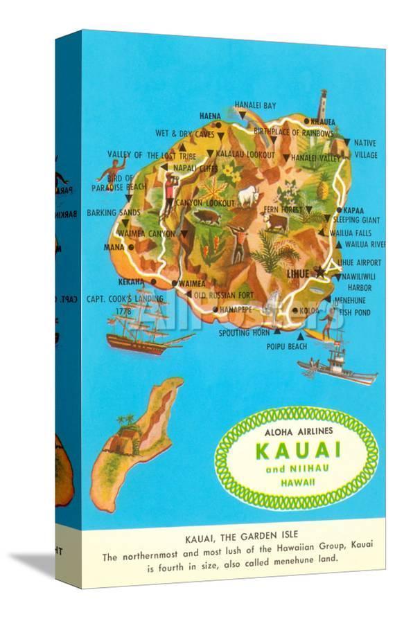 Map of Kauai, Hawaii Kawai Map on kin map, kawasaki map, martin map, waldorf map, sacred ridge site map, iwate prefecture map, iwaizumi map, baldwin map, marshall map,