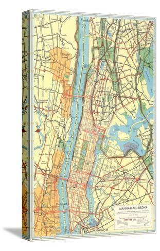 Map Of Manhattan And Bronx.Map Of Manhattan And Bronx New York Prints At Allposters Com