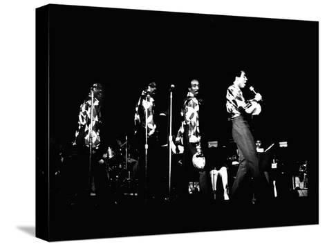 Smokey Robinson - 1971 Pingotettu canvasvedos