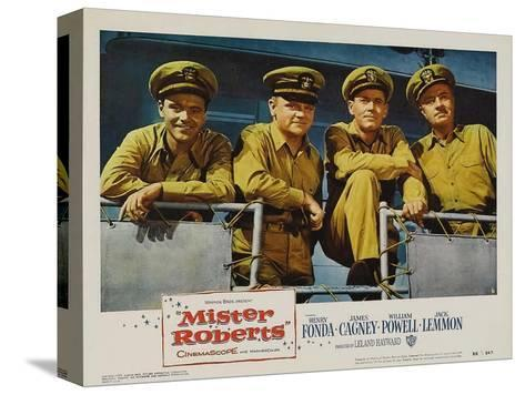 Mister Roberts, 1955 Stretched Canvas Print