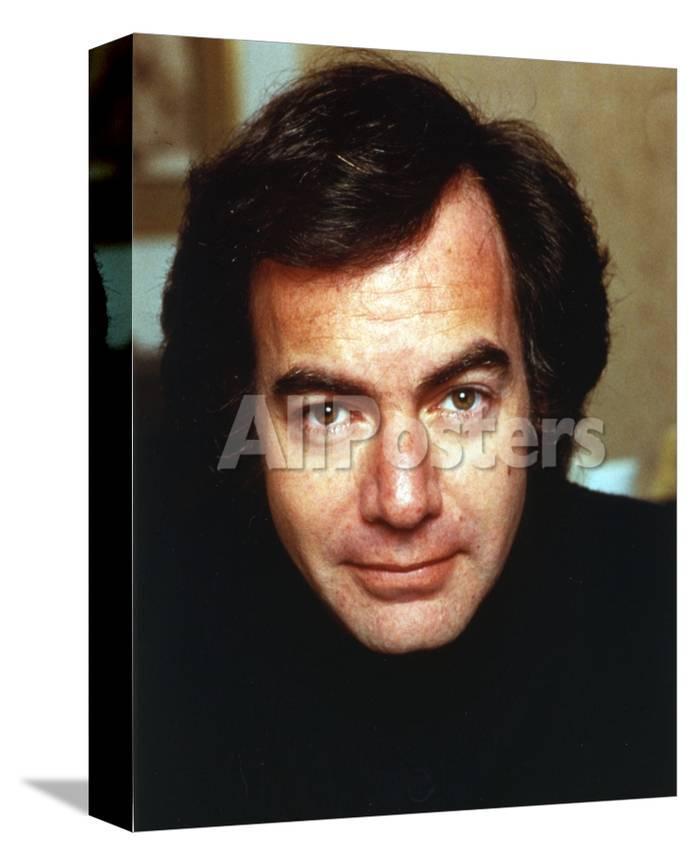 Neil Diamond Portrait In Black Photo By Movie Star News At
