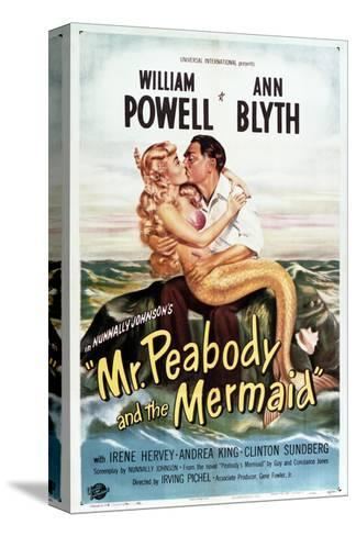 Mr. Peabody and the Mermaid Sträckt kanvastryck