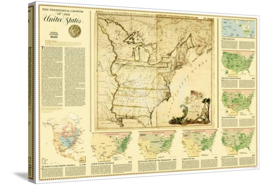 2000 United States, Territorial Growth Map