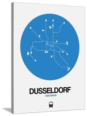 Dusseldorf Subway Map.Dusseldorf Blue Subway Map