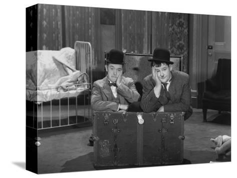 Oliver Hardy, Stan Laurel, Pack Up Your Troubles, 1932 Stampa su tela