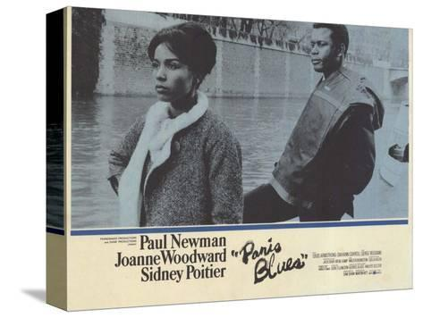 Paris Blues, 1961 Sträckt kanvastryck