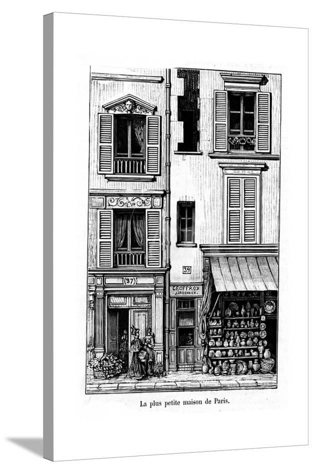 Remarkable Paris France General View The Smallest House Download Free Architecture Designs Terstmadebymaigaardcom
