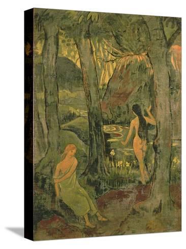 Young Women Bathing, 1892 Reproducción de lámina sobre lienzo