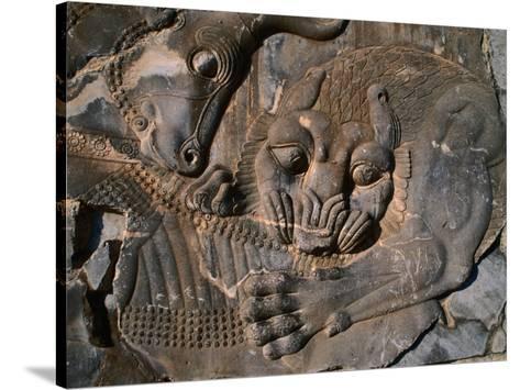 Bas relief carvings in ancient city of persepolis persepolis