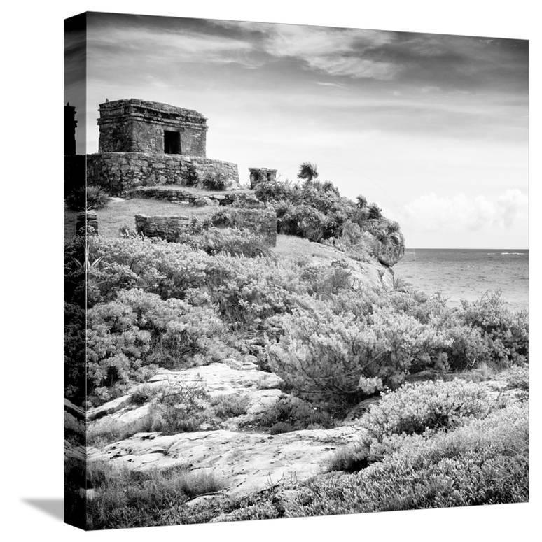 ¡Viva Mexico! Square Collection - Ancient Mayan Fortress in Riviera Maya V  - Tulum