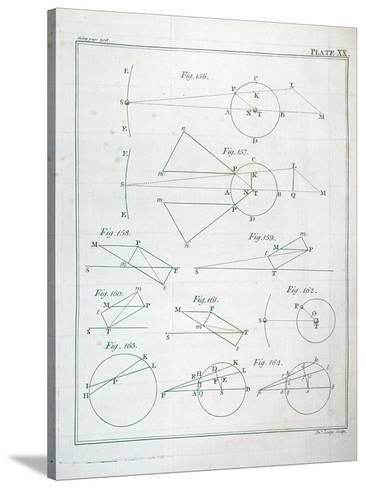 Plate Xx From Volume I Of The Mathematical Principles Of Natural