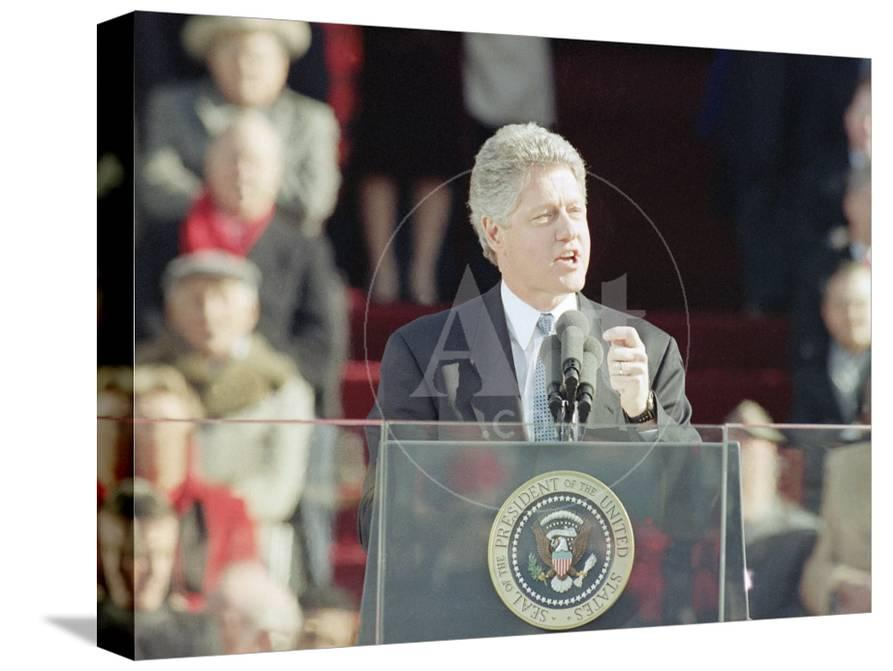 clinton first inaugural address