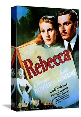 Rebecca - Movie Poster Reproduction Stampa su tela