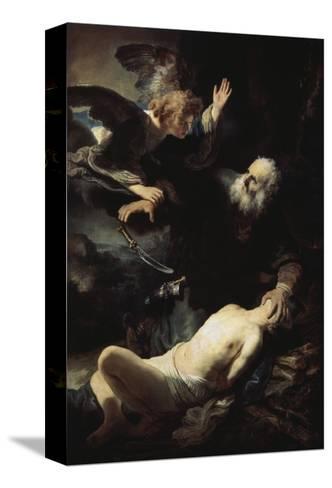 Abraham's Sacrifice Reproducción de lámina sobre lienzo