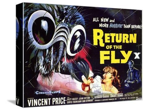 Return of the Fly, 1959 Stampa su tela