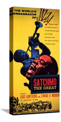 Satchmo the Great, 1957 Stretched Canvas Print
