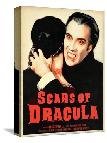 Scars of Dracula 1970 Stampa su tela