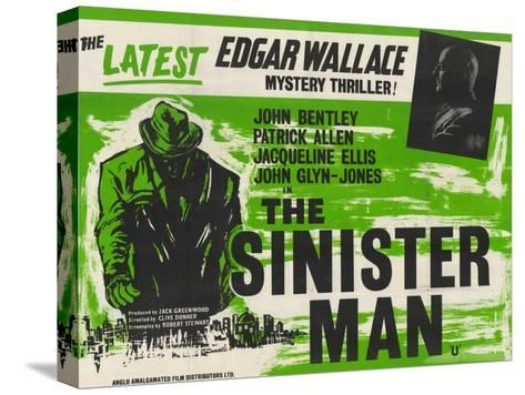 Sinister Man (The) Stretched Canvas Print