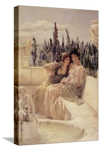 Whispering Noon, 1896 Reproducción de lámina sobre lienzo