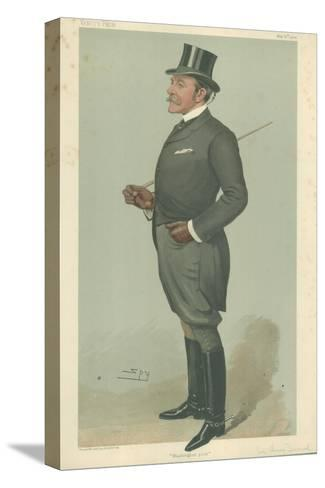 The Right Hon Sir Henry Mortimer Durand Stretched Canvas Print