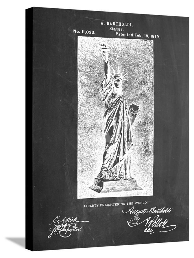 enlightening sign decor.htm statue of liberty patent posters at allposters com  liberty patent posters at allposters com