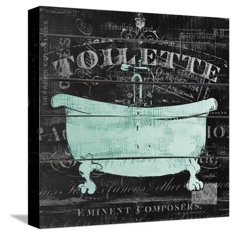 Toilette Stretched Canvas Print