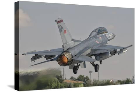 Turkish Air Force F-16 Taking Off During Exercise Anatolian Eagle