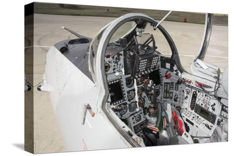 Upgraded Glass Cockpit of a Romanian Air Force Mig-21 Lancer