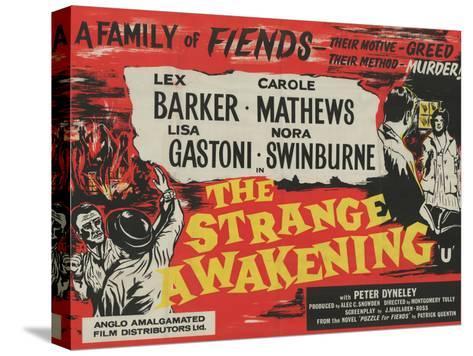 Strange Awakening Stretched Canvas Print
