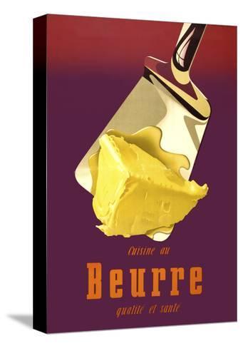 Swiss, Better Butter Pingotettu canvasvedos