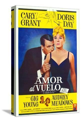 That Touch of Mink, Argentine Movie Poster, 1962 Stampa su tela
